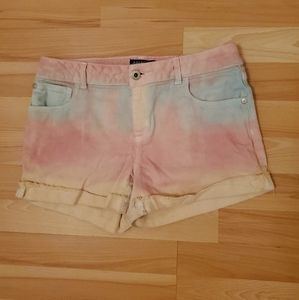 Arizona Shortie | Girl's Rainbow Cotton Candy Jean